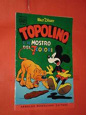 GLI ALBO D'ORO DI TOPOLINO-n° 21-L-annata del 1955-originale mondadori- disney