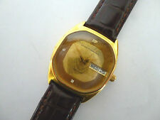 GIRARD PERREGAUX GYROMATIC WATCH CHRONOSPEED HIGH FREQUENCY 36000 DAY-DATE 1970