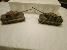 2003 Hobbico Radio Controlled Lazer Infrared German King Tiger Tanks