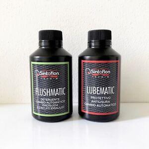 Sintoflon FLUSHMATIC + LUBEMATIC trattamento cambio automatico NUOVA CONFEZIONE