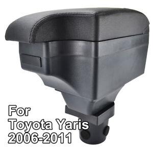 Car Central Console Armrest For Toyota Yaris Vitz Hatchback 06 - 11 Daihatsu
