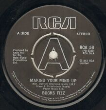 "BUCKS FIZZ Making Your Mind Up  7"" B/W Don'T Stop, Rca 56, Plain Sleeve"