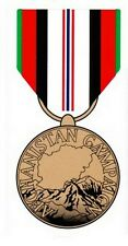 Afghanistan Campaign Service Medal Decal