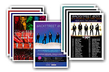 BACKSTREET BOYS - 10 promotionnel affiches - de collection lot carte postale # 1