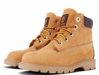 TIMBERLAND 6 INCH BOOT PRESCHOOL WHEAT NUBUCK 10760 CLASSIC BOYS GIRLS