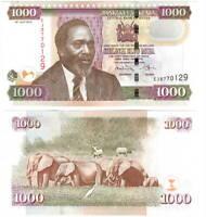 UNC Kenya 1000 Shillings (2010) P-51e