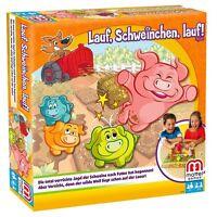 Mattel Y2552 - Lauf Schweinchen lauf, Strategiespiel für Kinder NEU+OVP