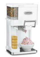 NEW Cuisinart ICE 45 Mix It In Soft Serve 1 2 Quart Ice Cream Maker White