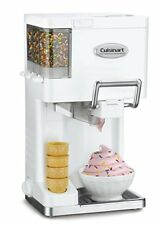NEW Cuisinart ICE 45 Mix It In Soft Serve 1 2 Quart Ice Cream Maker White