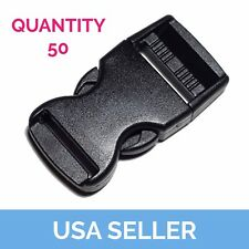 """1"""" Side Release Buckle, Side Release Clip, 1 Inch, 50 Pcs Shipped from USA"""