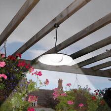 Solar Powered Outdoor Garden Patio Decking Hanging Garage Shed LED Lamp Light AU