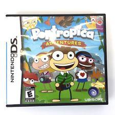 Poptropica Adventures - Solve Puzzles Explore Islands Nintendo DS Game