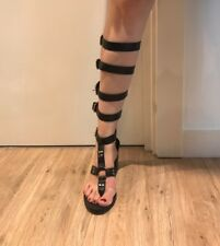 Zara Sandals Lace Up Shoes Ankle Boots Heels Leather Boots