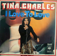 "7"" 1975 NL-PRESS VG++ ! TINA CHARLES : I Love To Love"