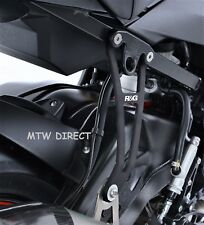 BMW S1000R 2017-2018 R&G Racing exhaust hanger & footrest blanking plate kit