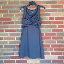 Athleta Asphalt Gray Draped Tunic Fitness Dress XXSmall