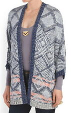 Ella Moss Navy Open Front Cardigan Size XSmall/Small