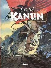EO MANINI + CHEVEREAU + MAGNIFIQUE DESSIN ORIGINAL LOI DU KANUN 1 DETTE DE SANG