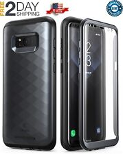 Samsung Galaxy S8+ Plus Case Full-Body With Built-in Screen Protector Black 2017