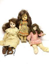 Lot of 3 Vintage Dolls; Gorham, Edith, Impco