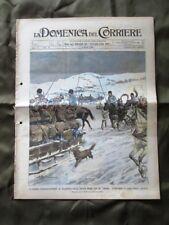 La Domenica del Corriere 6 Marzo 1904 Truppe russe Mercato Organetti Carnevale