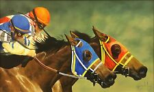 "RON BALABAN ""RACING HORSES"" 