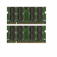 NEW 4GB (2x2GB) Memory PC2-5300 SODIMM For Dell Inspiron 1525