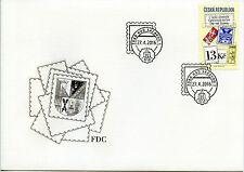 Czech Republic 2016 FDC Philatelic Exhibition Zdar nad Sazavou 1v Cover Stamps