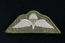 British Army Parachute Wings- Vecro Subdued Patch - No509