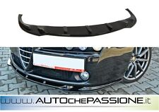 Spoiler/Splitter anteriore lama Alfa Romeo 159 nuova ABS nero lucido lip spoiler