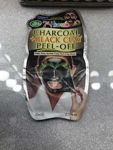 Charcoal And Black Clay Peel Off Mask