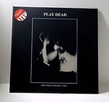 PLAY DEAD The Final Epitaph Live RED COLOR VINYL LP Sealed LIMITED EDITION