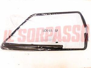 Trims Window Seal Raschiavetri Aluminum Black 2 Doors Fiat 128 CL
