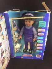 Amazing Ally Brunette 1999 Interactive Doll & Bonus Tea Set Playmates