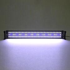 18W Lampe Éclairage Lumière 108LED Blanc Bleu Lampe Rampe pr 72-90cm Aquarium