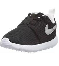 Kid's Nike ROSHE ONE (TDV) Toddler RUNNING SHOE Black/White 749430 021 Size 6c