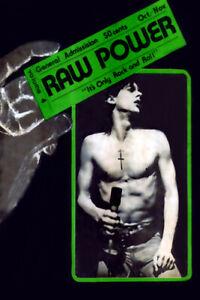 Iggy Pop MEGA RARE 1976 Raw Power Magazine Cover Poster print
