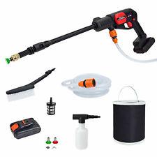 Grafner® Hochdruckreiniger Akku Flächenreiniger mobil mit Wassertank 22bar 160w