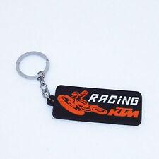 Motorcycle Orange Keychain for Motocross Dirtbike 525 590 690 RC8 Supermoto KTM