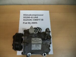 Klimakompressor 95200-62JA0 SUZUKI SWIFT III (MZ, EZ) 1.3