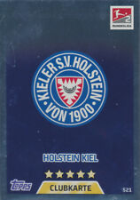 Match Attax Extra 17 / 18 - 521 - Clubkarte - Holstein Kiel 2. Bundesliga