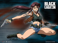 Black Lagoon Revy Wall Scroll Poster Anime Manga NEW