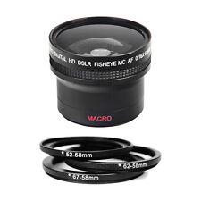 0.16X Fisheye Lens for Nikon D3000 D3100 D3200 D5000 D5100 D7000 D7100 D80 D90