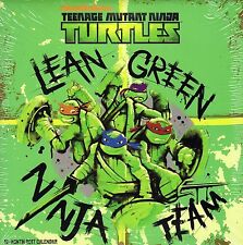 "Teenage Mutant Ninga Turtles  2017 12-Month Wall Calendar. Full Color 10"" X 10""."
