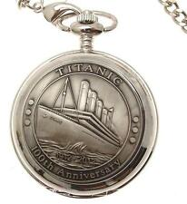 Pocket watch Titanic design skeleton mechanism