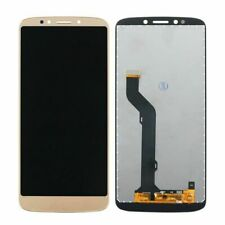 New Moto Motorola E5 Plus XT1924 Complete LCD Display Screen + Digitizer GOLD uk