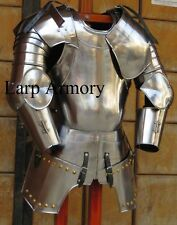 16th Century Etched Spanish Medieval Suit Of Armour Wearable Halloween Costume