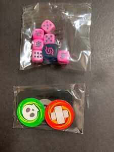 Pokemon Sealed Unified Minds Dice & Token/Damage/Counter Set! Trainer Box - NEW!