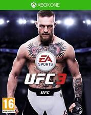 UFC 3 XBOX ONE NUEVO PRECINTADO TEXTOS EN CASTELLANO ESPAÑOL