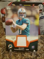 🔥RYAN TANNEHILL TOPPS ROOKIE PLAYER WORN PATCH TEXAS A&M DOLPHINS TITANS🔥